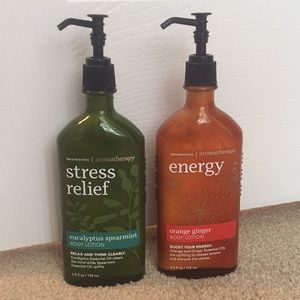Bath & Body Works Aromatherapy Lotion Bundle